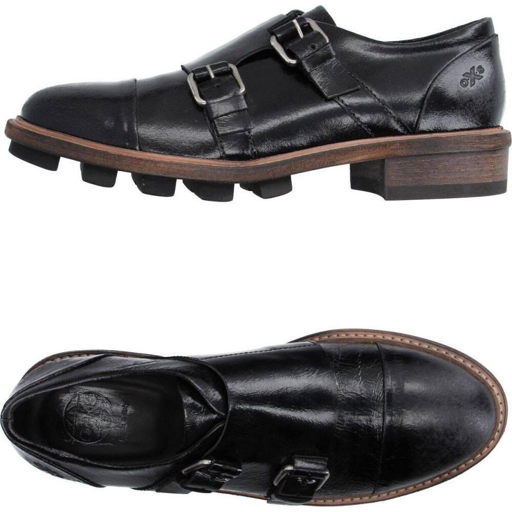 『2年保証』 オキシス O.X.S. メンズ ローファー シューズ・靴【loafers】Black, マジカルPC 32c939c3