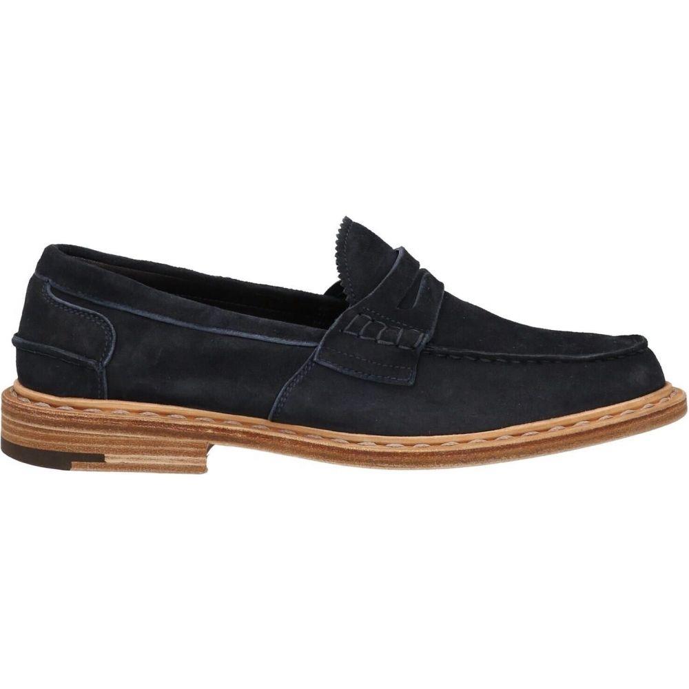 プレミアータ メンズ マート シューズ 靴 ローファー オンラインショップ サイズ交換無料 blue loafers PREMIATA Dark
