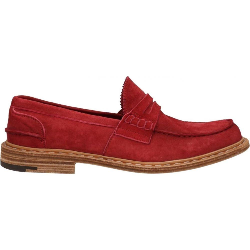 プレミアータ メンズ シューズ 靴 ローファー red サイズ交換無料 70%OFFアウトレット Brick 期間限定特別価格 PREMIATA loafers