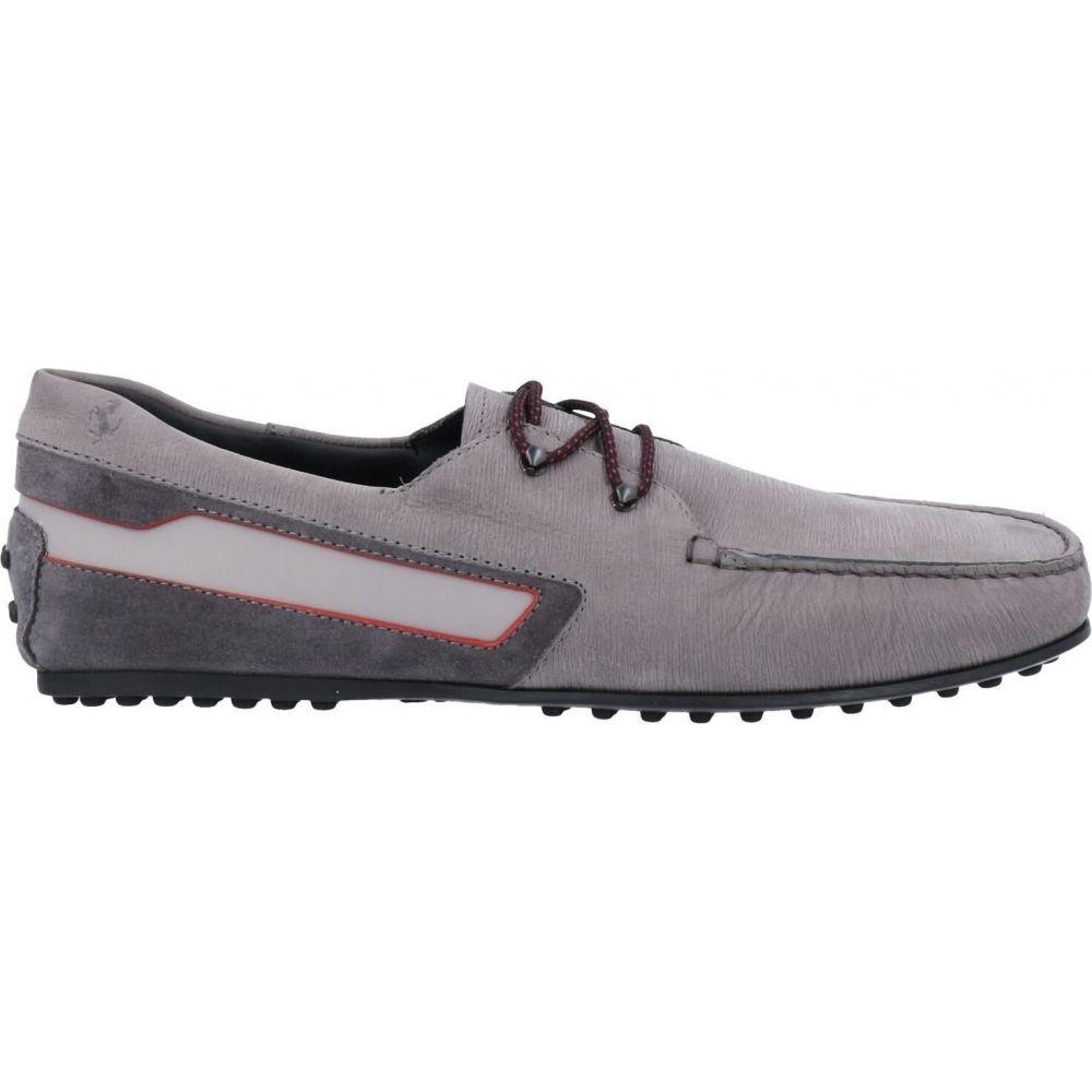 買い誠実 トッズ TOD'S for FERRARI TOD'S メンズ for シューズ・靴 FERRARI【laced shoes】Grey, アニモスタイル(DOG&CAT):06f2d9f3 --- ironaddicts.in