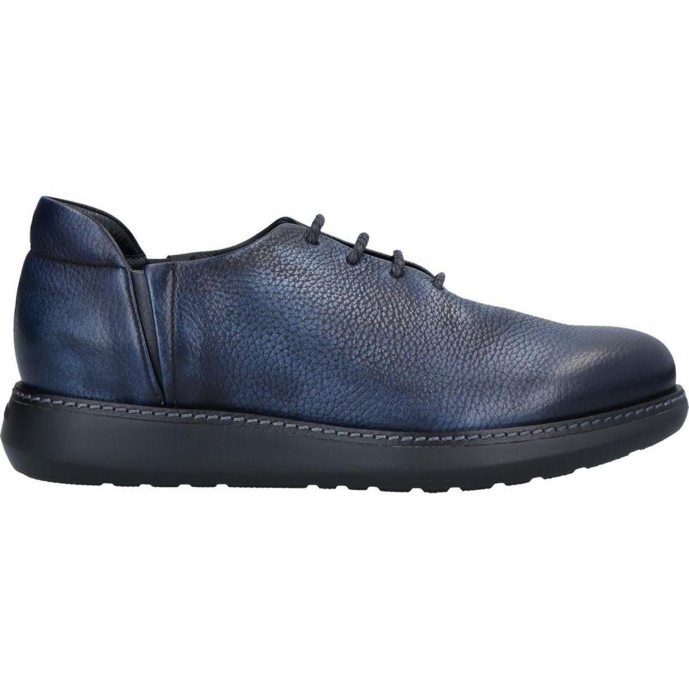 【日本産】 アルマーニ GIORGIO ARMANI メンズ シューズ・靴 【Laced Shoes】Dark blue, 西目町 c2b3695c