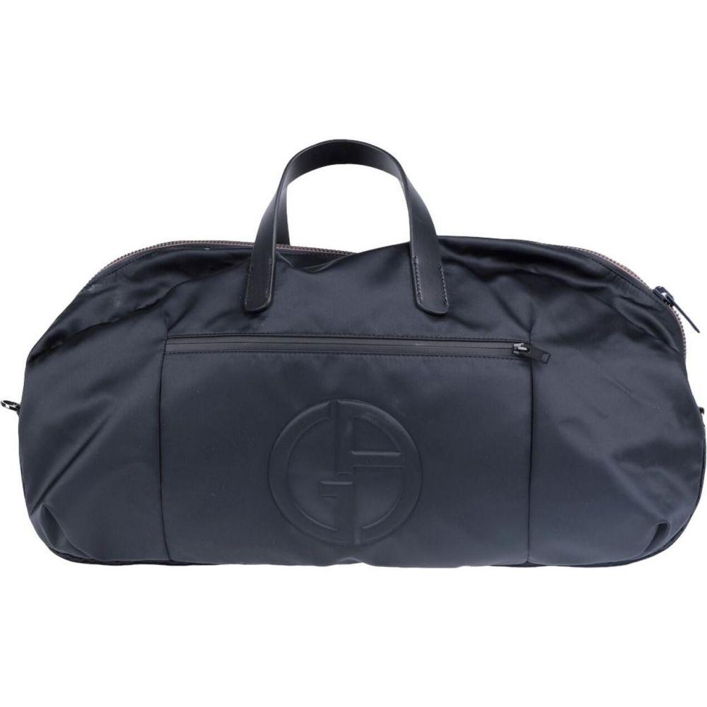【超ポイントバック祭】 アルマーニ GIORGIO ARMANI メンズ ボストンバッグ・ダッフルバッグ アルマーニ バッグ【Travel & & ARMANI Duffel Bag】Black, TREASURE-HUNTER-STORE-R:aa4cda8b --- evirs.sk