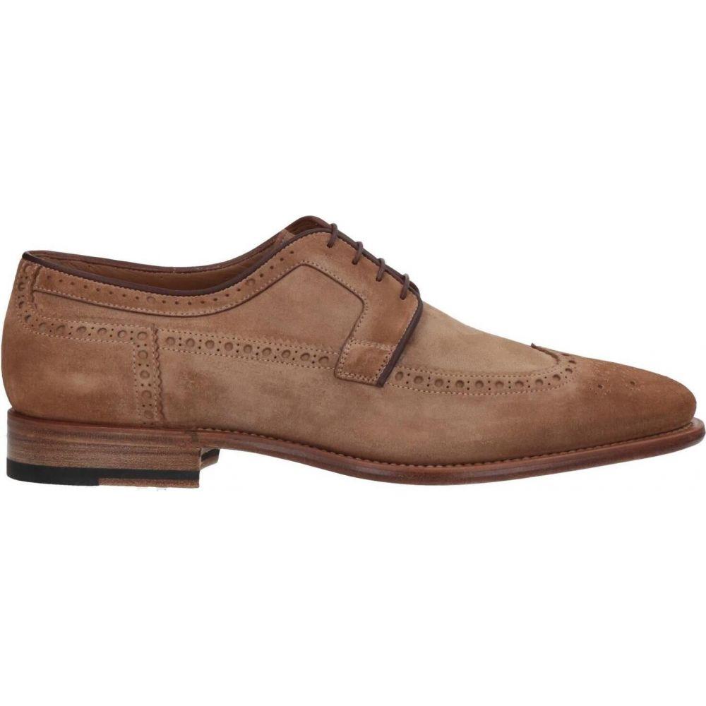 【良好品】 サントーニ SANTONI メンズ シューズ・靴 【Laced Shoes】Sand, グンママチ 42b5550e