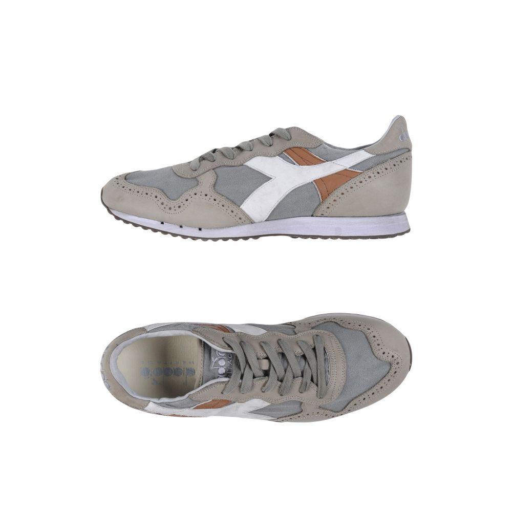 ディアドラ DIADORA HERITAGE メンズ スニーカー メダリオン シューズ・靴【trident c dyed brogue sneakers】Grey