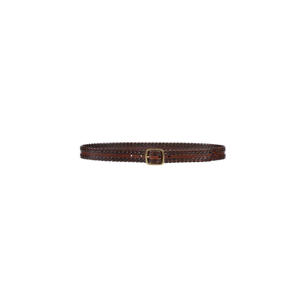 ディースクエアード メンズ ファッション小物 ベルト Cocoa 【サイズ交換無料】 ディースクエアード DSQUARED2 メンズ ベルト 【leather belt】Cocoa