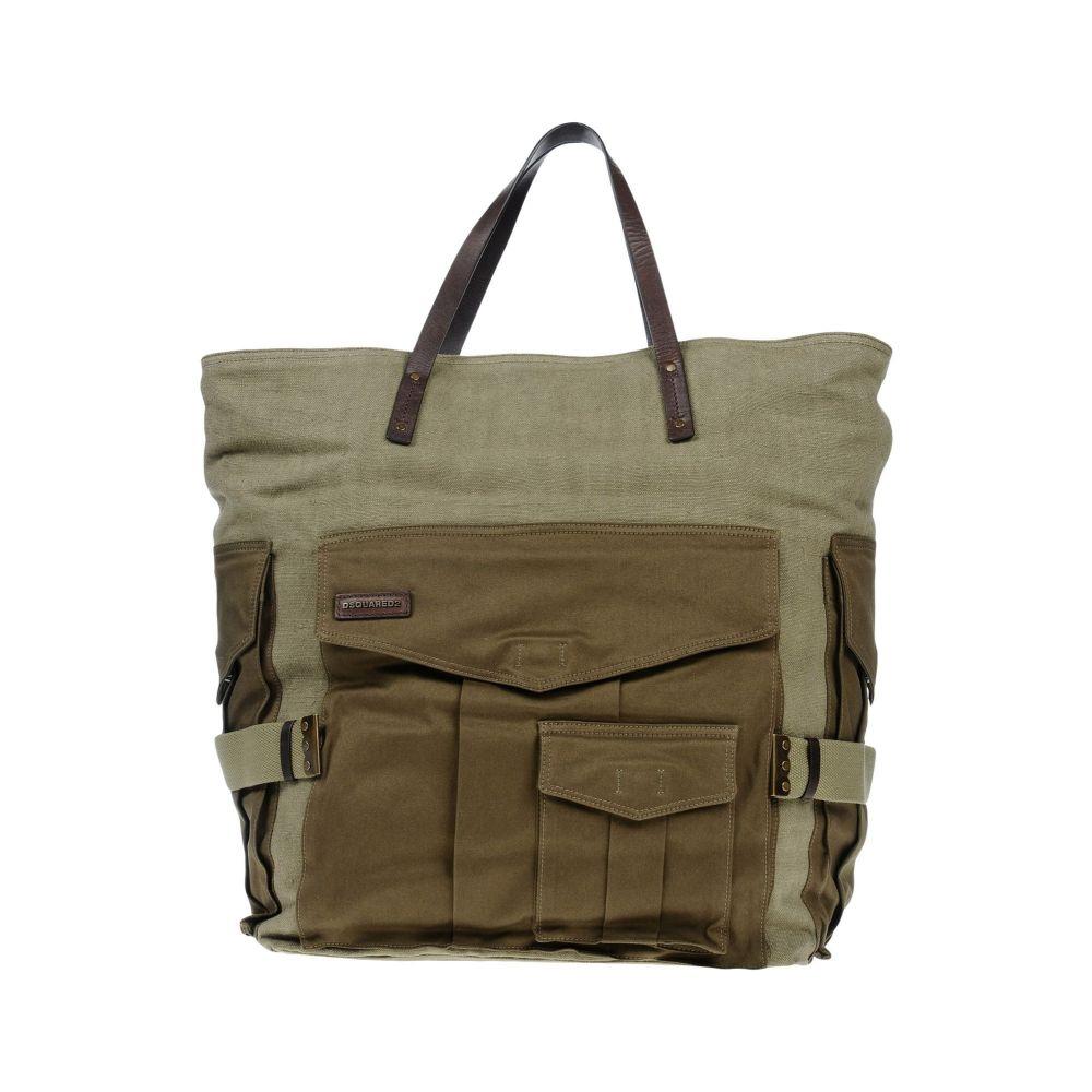 ディースクエアード メンズ バッグ ハンドバッグ Military green 【サイズ交換無料】 ディースクエアード DSQUARED2 メンズ ハンドバッグ バッグ【handbag】Military green