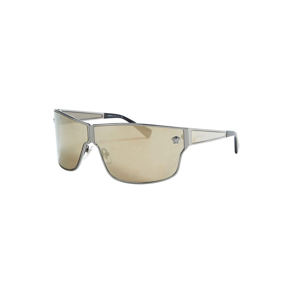 ヴェルサーチ VERSACE メンズ メガネ・サングラス 【ve226】Silver