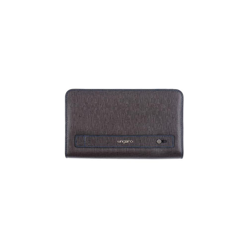 ウンガロ UNGARO メンズ ビジネスバッグ・ブリーフケース バッグ【document holder】Dark brown