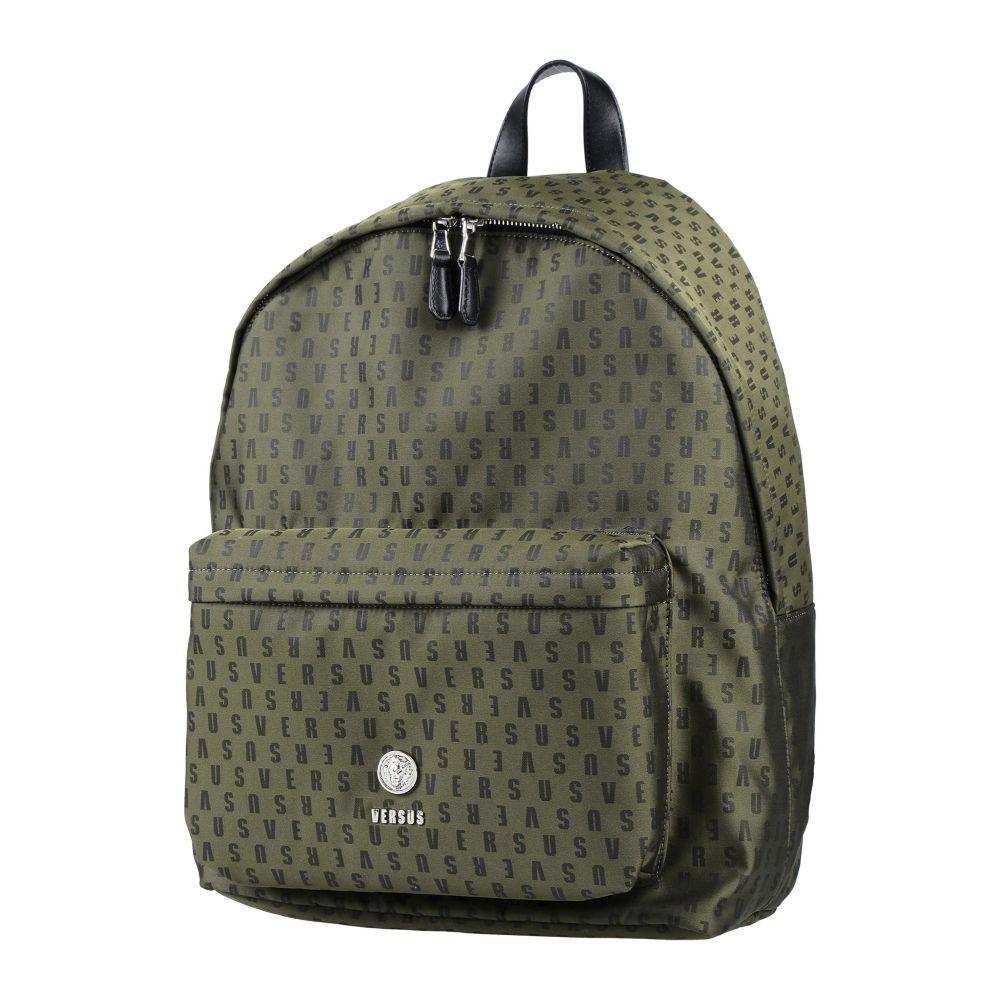 ヴェルサーチ VERSUS VERSACE メンズ バッグ 【backpack & fanny pack】Military green