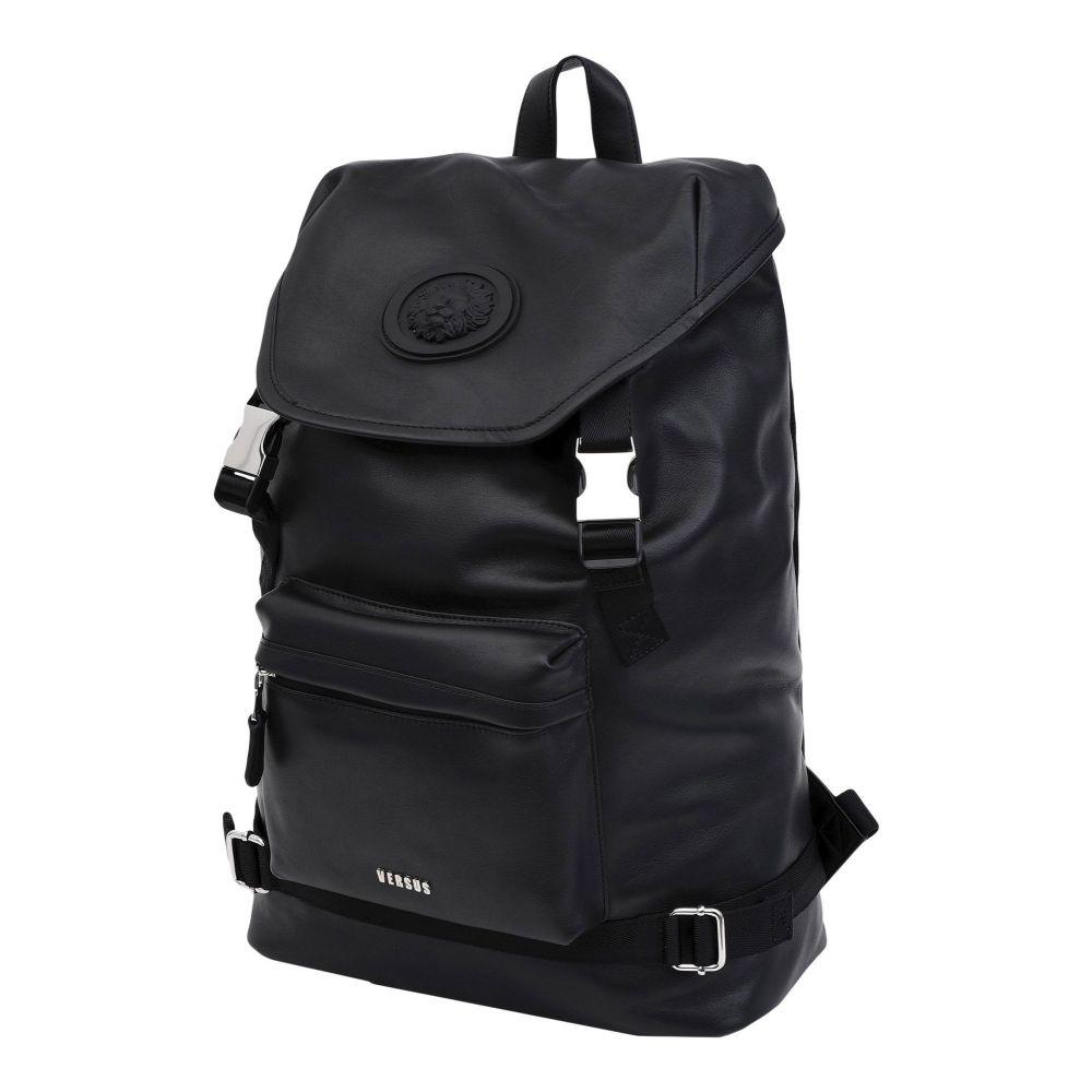 ヴェルサーチ VERSUS VERSACE メンズ バッグ 【backpack & fanny pack】Black