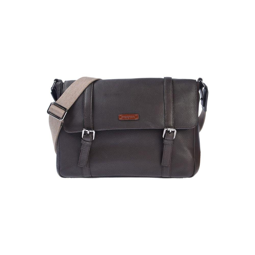 ウンガロ UNGARO メンズ ショルダーバッグ バッグ【cross-body bags】Dark brown
