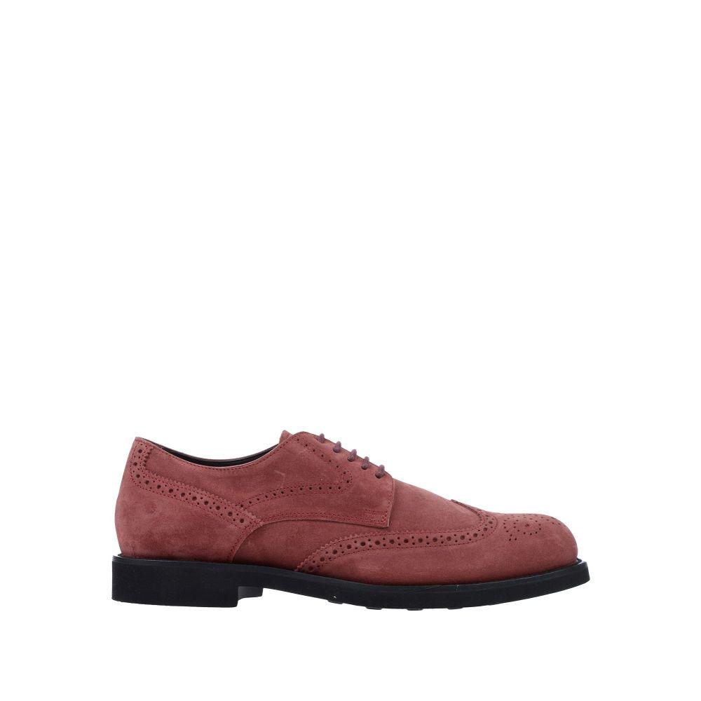 トッズ TOD'S メンズ シューズ・靴 【laced shoes】Maroon