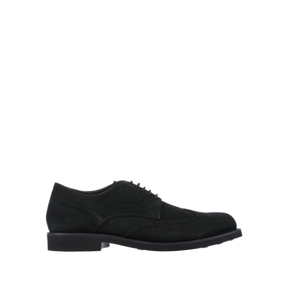 <title>トッズ メンズ シューズ 靴 その他シューズ Black サイズ交換無料 TOD'S laced 捧呈 shoes</title>