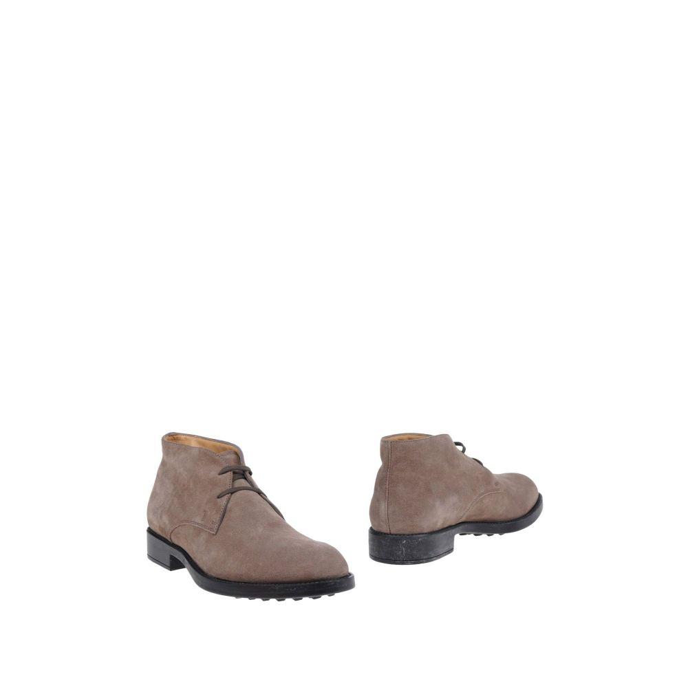 トッズ TOD'S メンズ ブーツ シューズ・靴【boots】Dove grey