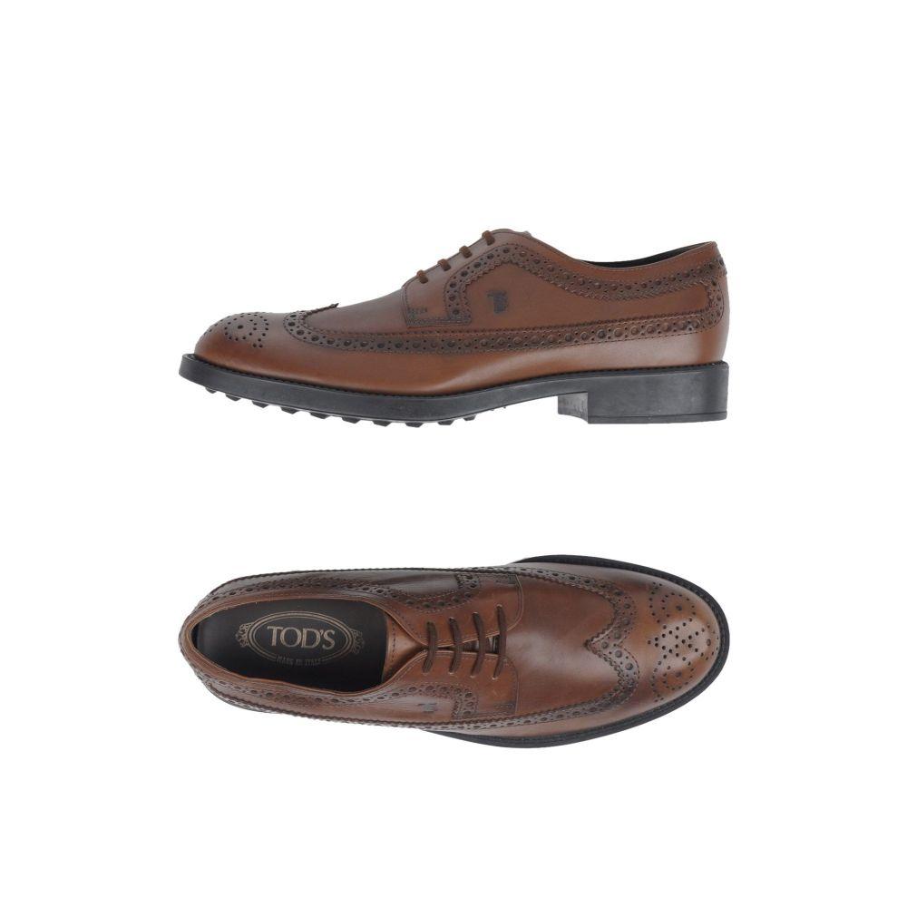 トッズ TOD'S メンズ シューズ・靴 【laced shoes】Cocoa