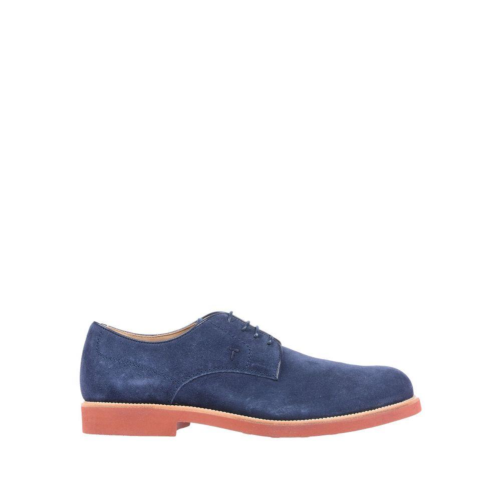 トッズ TOD'S shoes】Blue シューズ・靴 【laced メンズ