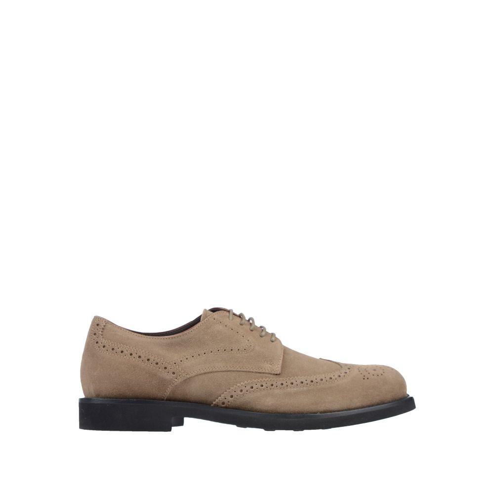 トッズ TOD'S メンズ シューズ・靴 【laced shoes】Khaki