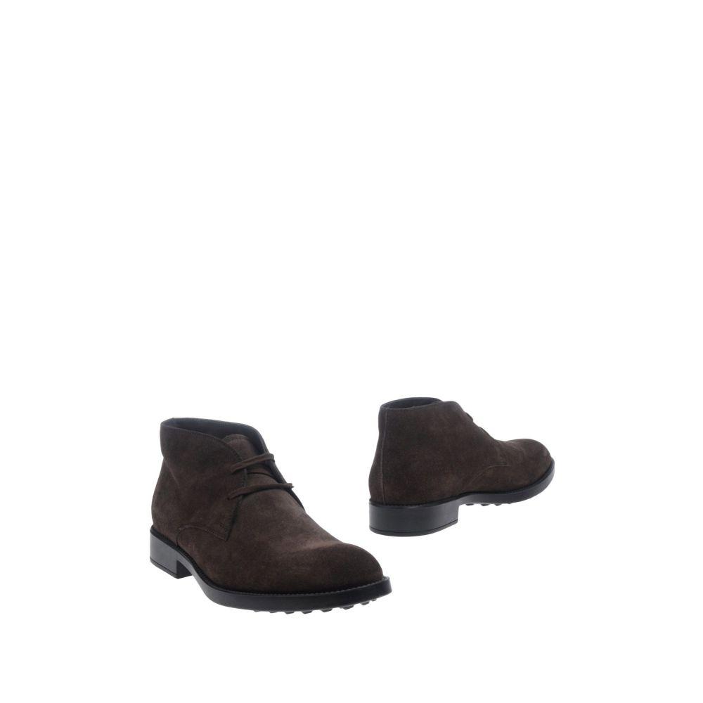 トッズ TOD'S メンズ ブーツ シューズ・靴【boots】Dark brown