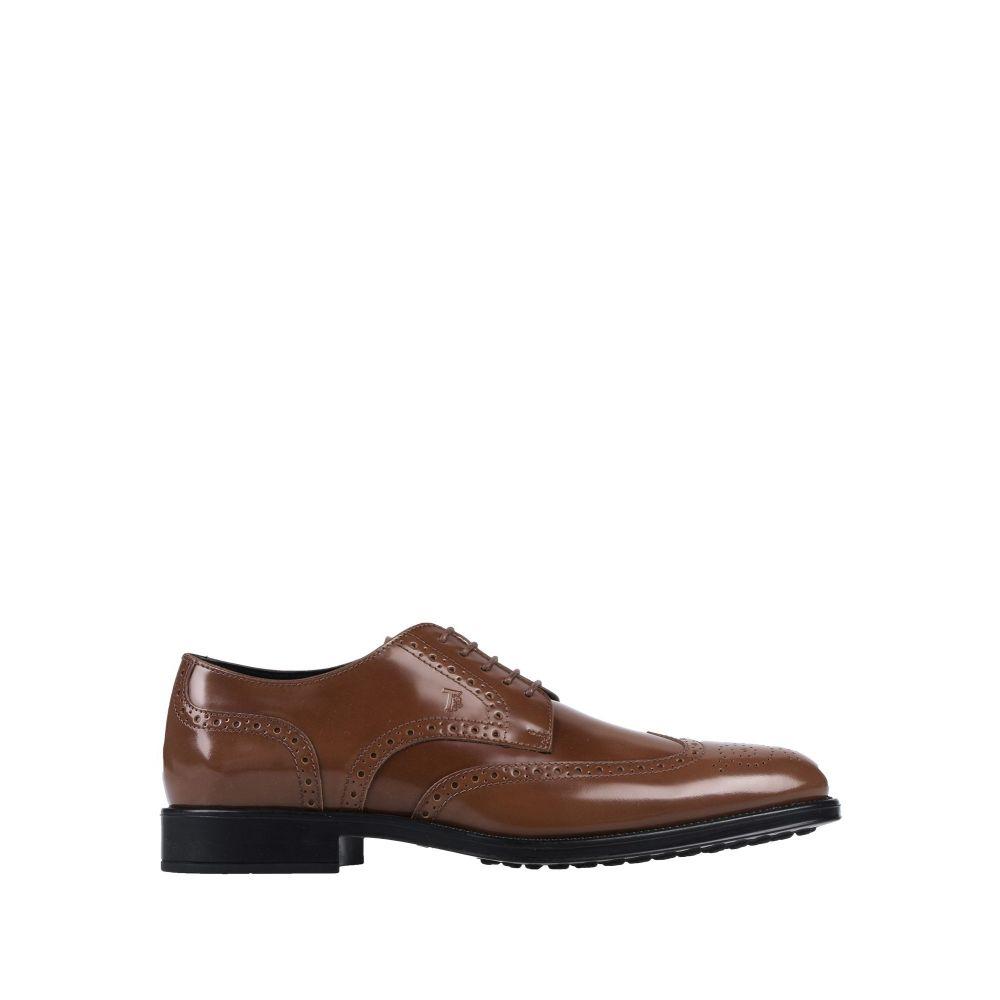 トッズ TOD'S メンズ シューズ・靴 【laced shoes】Brown
