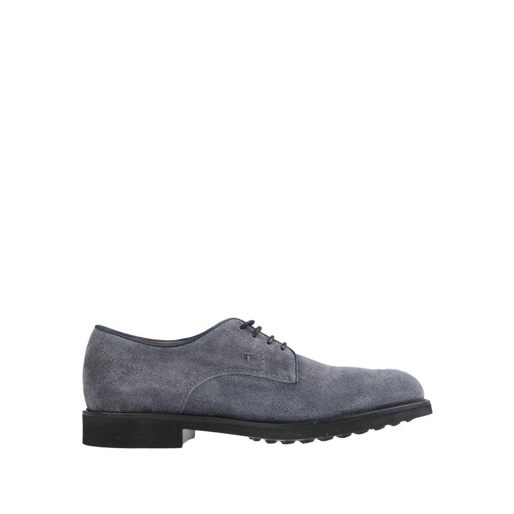 トッズ TOD'S メンズ シューズ・靴 【laced shoes】Grey