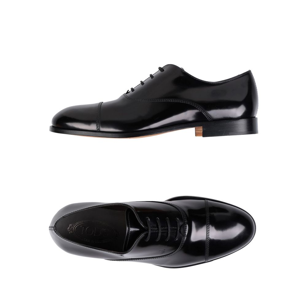 トッズ TOD'S メンズ シューズ・靴 【laced shoes】Black