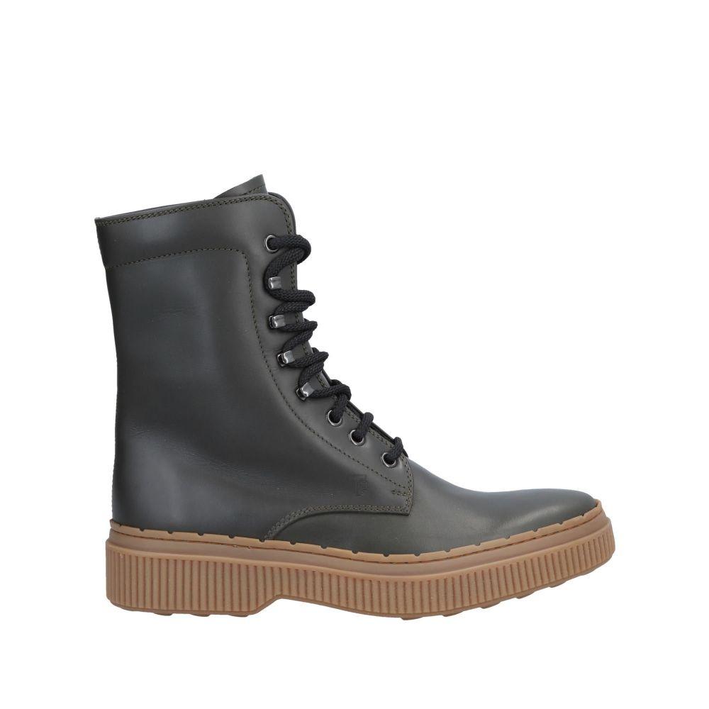 トッズ TOD'S メンズ ブーツ シューズ・靴【boots】Dark green