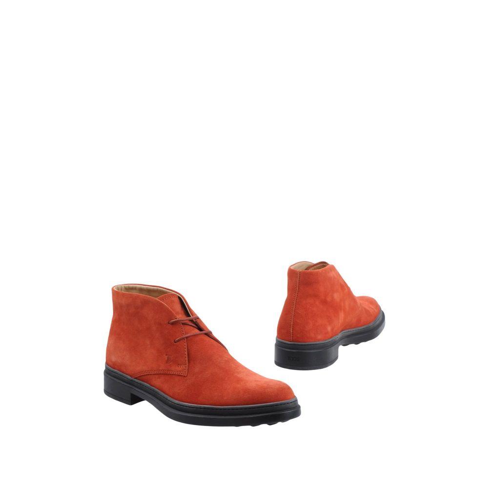 トッズ TOD'S メンズ ブーツ シューズ・靴【boots】Brick red