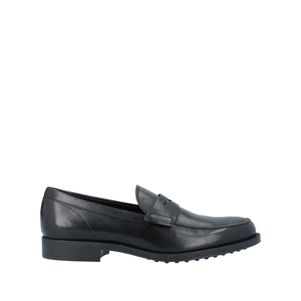 トッズ TOD'S メンズ ローファー シューズ・靴【loafers】Black
