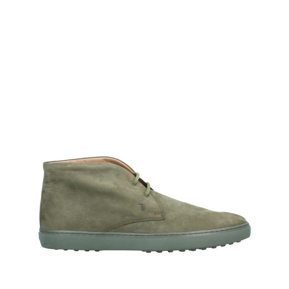 トッズ TOD'S メンズ ブーツ シューズ・靴【boots】Military green
