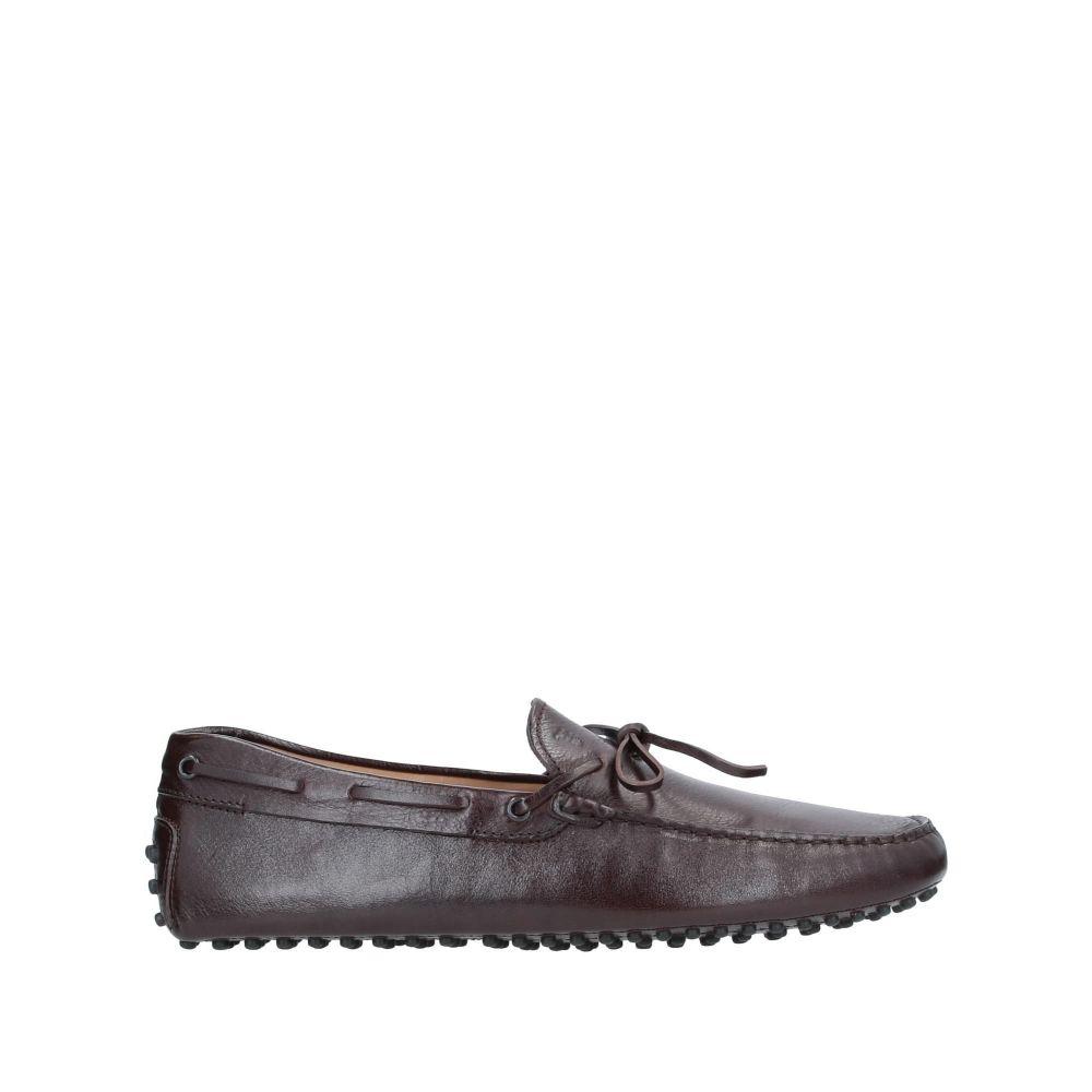 トッズ TOD'S メンズ ローファー シューズ・靴【loafers】Dark brown