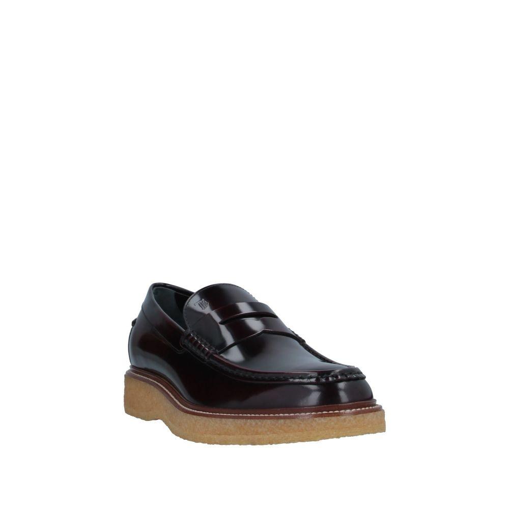 トッズ TOD'S メンズ ローファー シューズ・靴 loafers Deep purplen80OXZwPkN