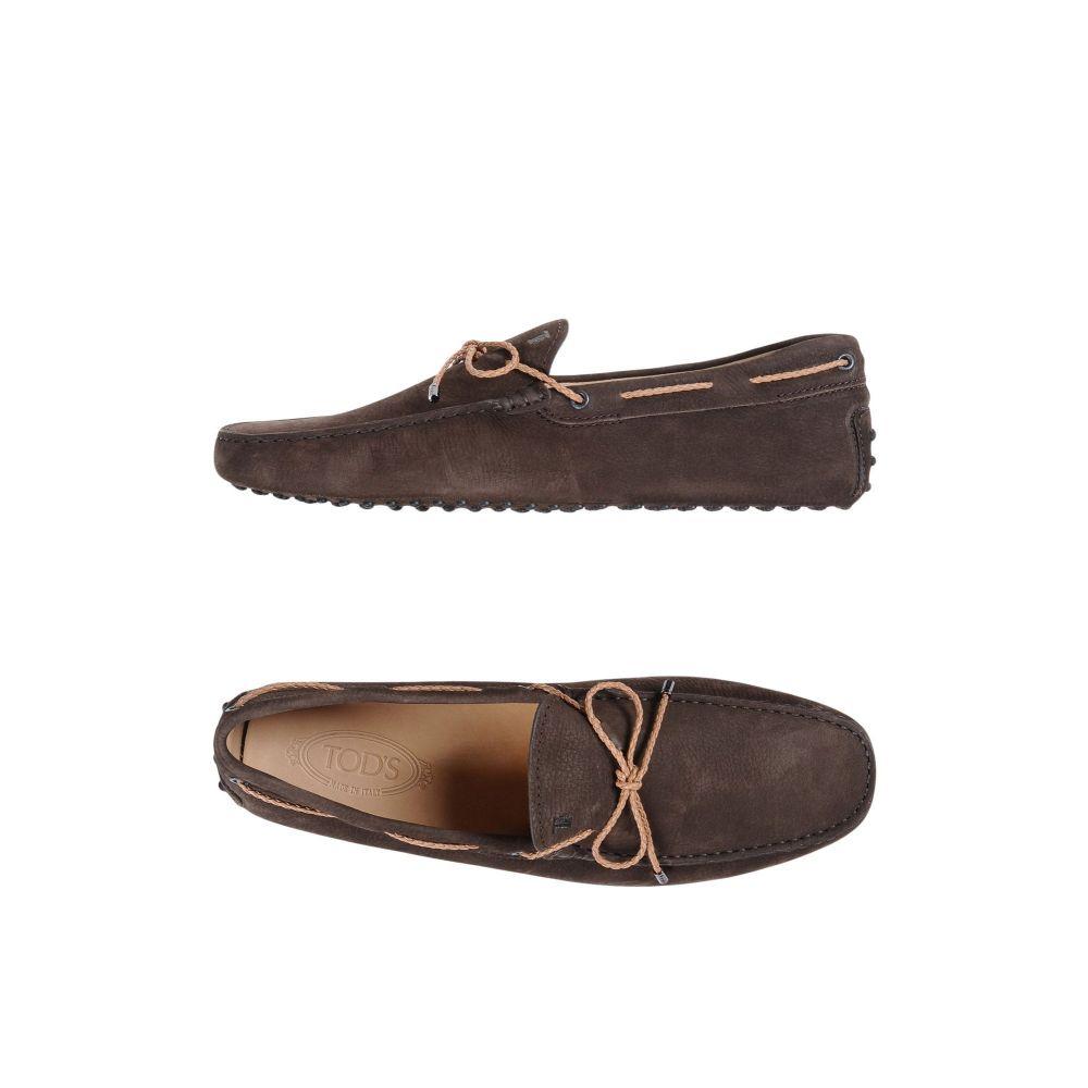 トッズ メンズ 驚きの値段で シューズ 靴 ローファー サイズ交換無料 日本全国 送料無料 Cocoa TOD'S loafers