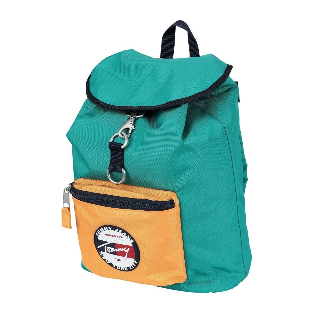 トミー ジーンズ TOMMY JEANS メンズ バックパック・リュック バッグ【tju heritage backpack】Turquoise
