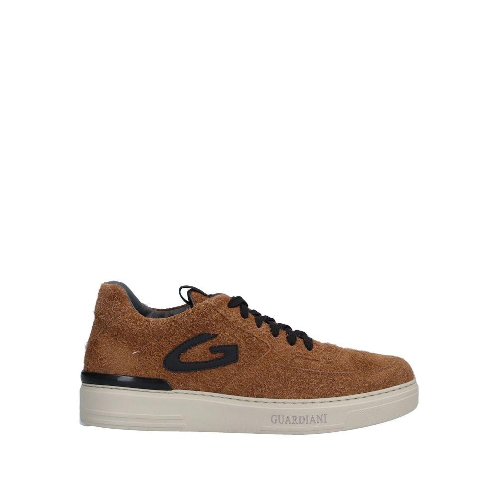 アルベルト ガルディアーニ ALBERTO GUARDIANI メンズ スニーカー シューズ・靴【sneakers】Brown