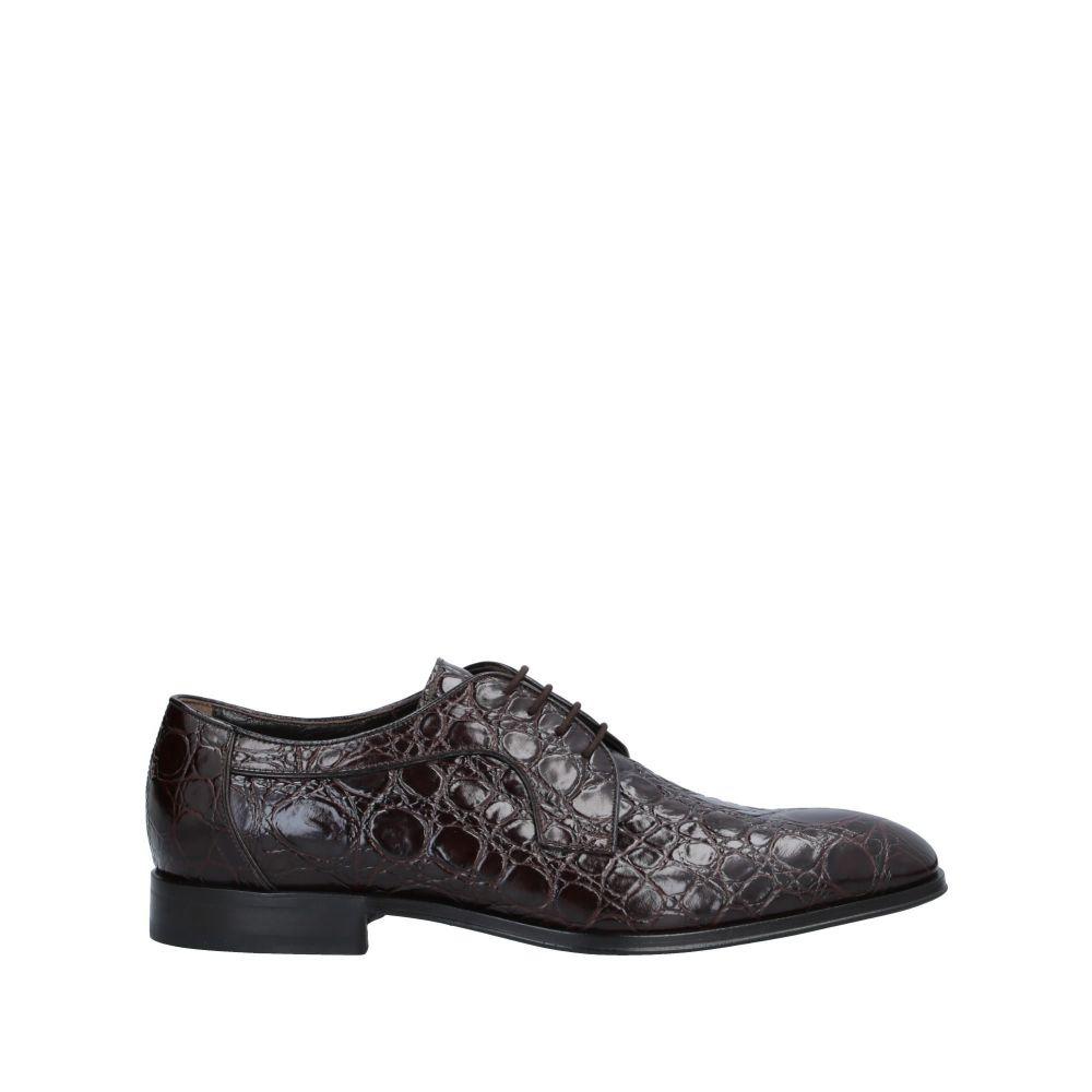 アルドブルエ ALDO BRUE メンズ シューズ・靴 【laced shoes】Dark brown