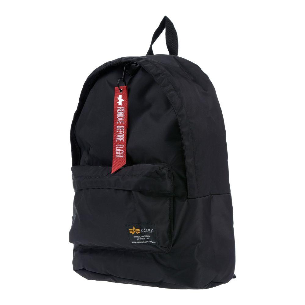 アルファ インダストリーズ ALPHA INDUSTRIES メンズ バッグ 【backpack & fanny pack】Black