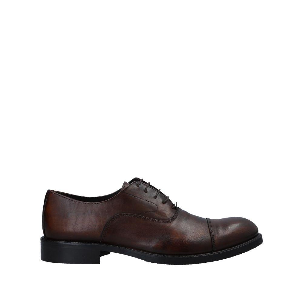 トラサルディ TRUSSARDI メンズ シューズ・靴 【laced shoes】Brown