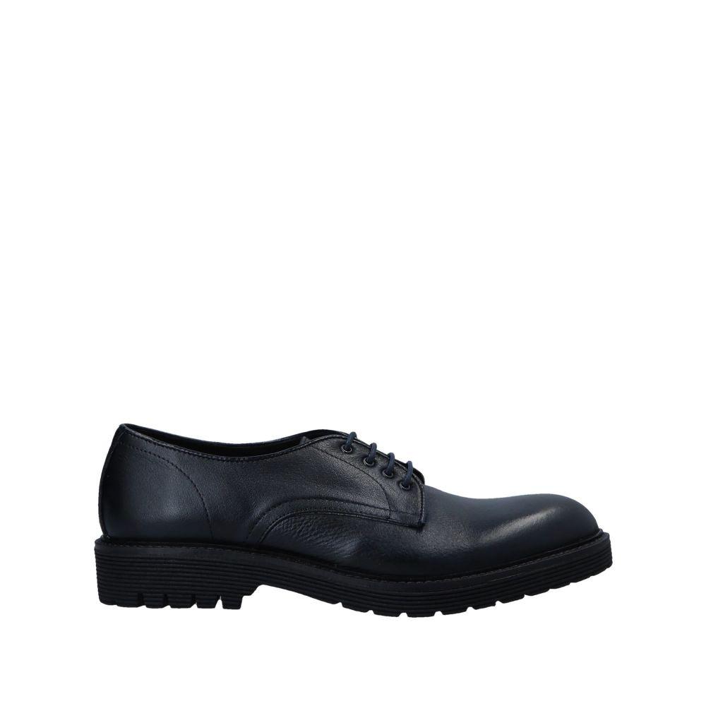 トラサルディ TRUSSARDI メンズ シューズ・靴 【laced shoes】Dark blue