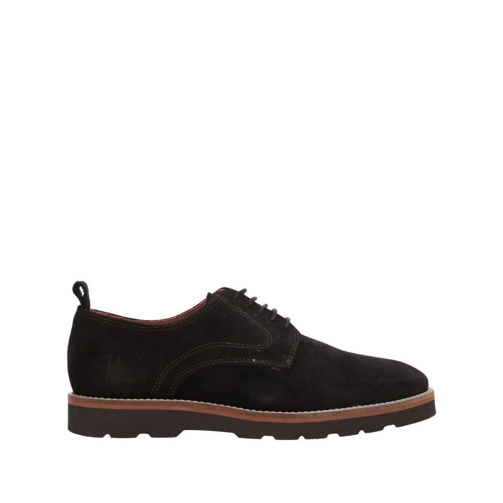 トラサルディ TRUSSARDI JEANS メンズ シューズ・靴 【laced shoes】Dark brown