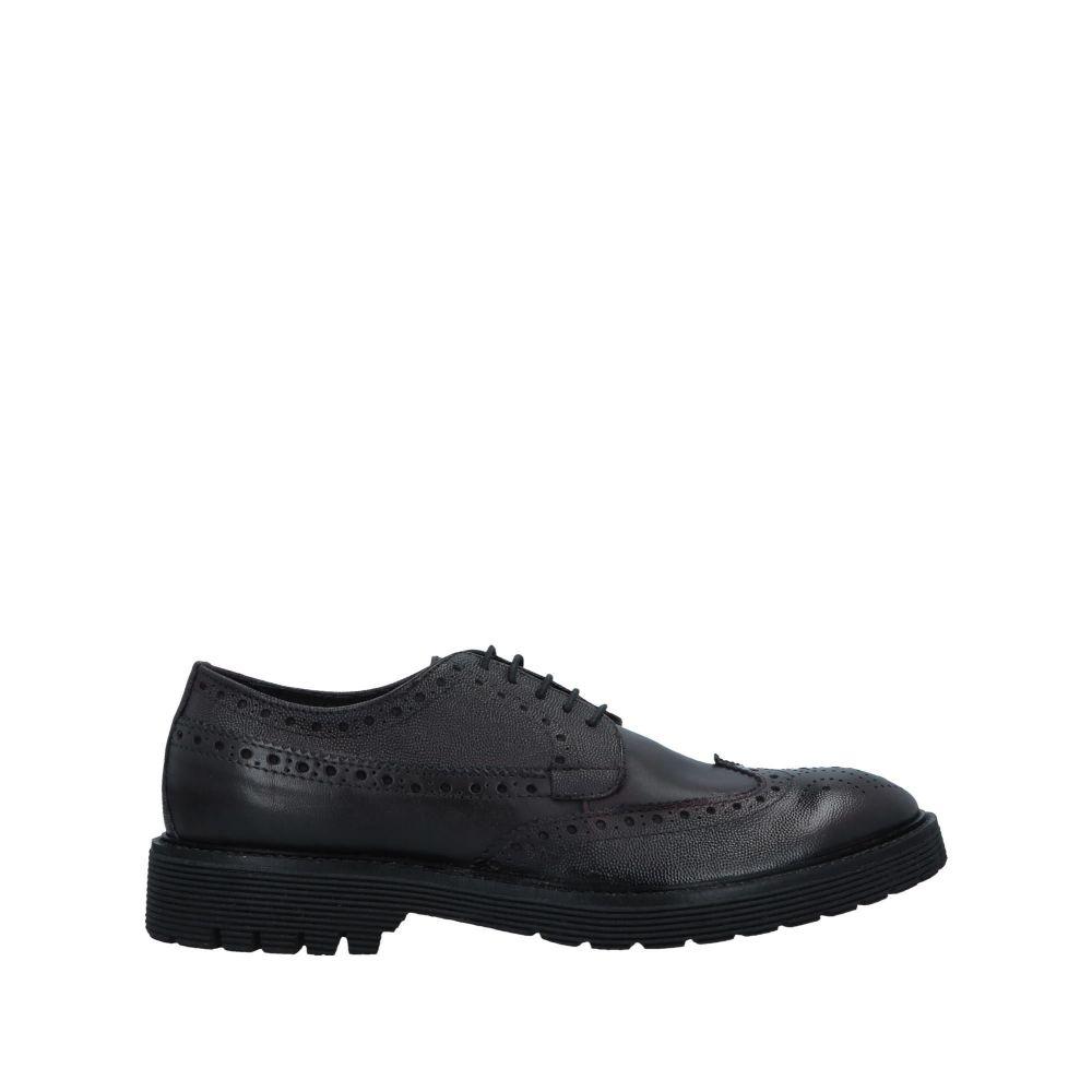 トラサルディ TRUSSARDI メンズ シューズ・靴 【laced shoes】Maroon
