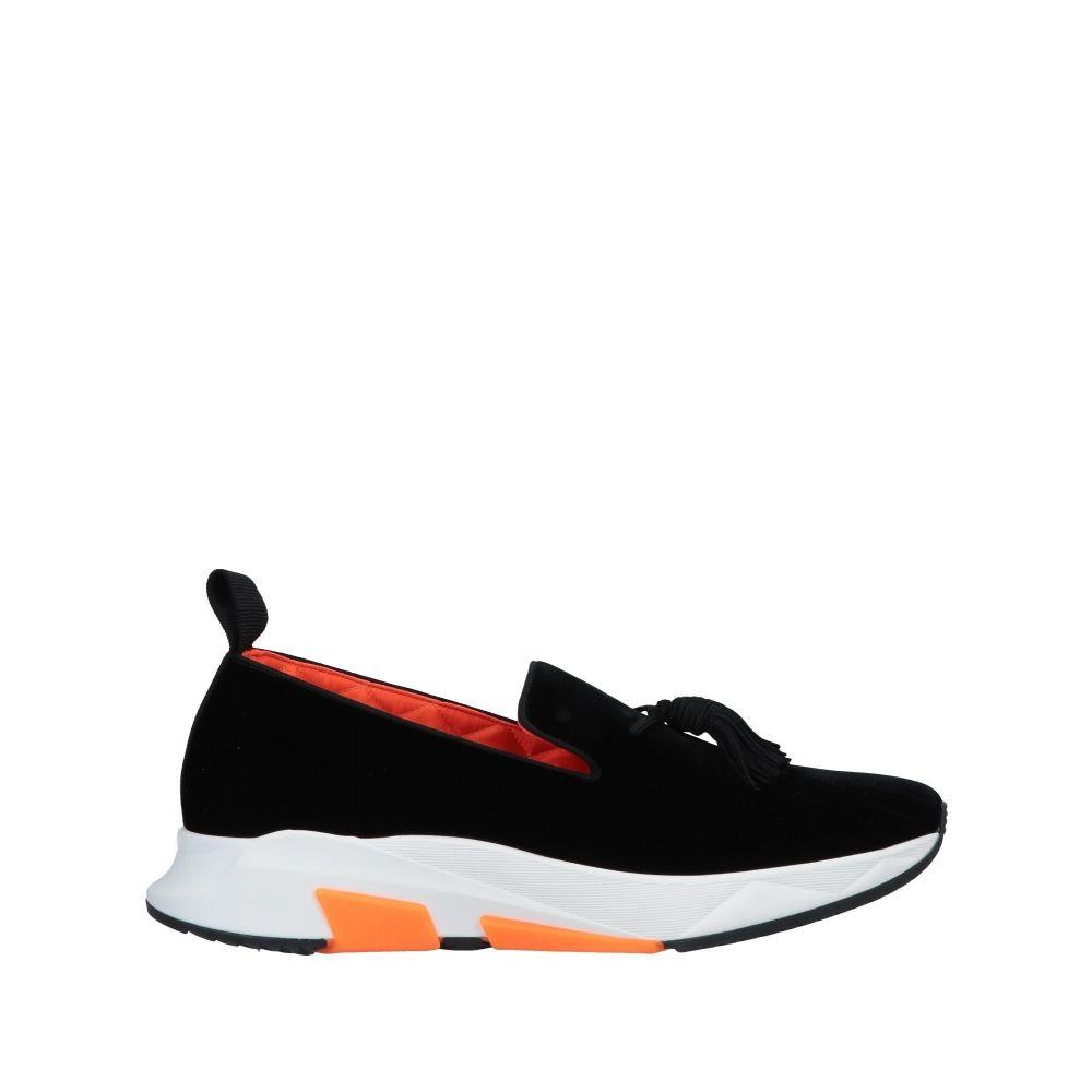 トム フォード TOM FORD メンズ ローファー シューズ・靴【loafers】Black