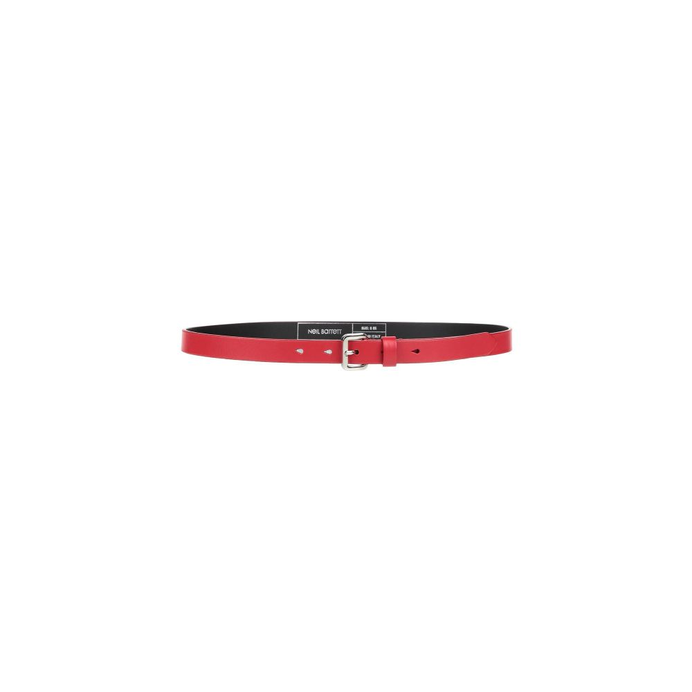ニール バレット NEIL BARRETT メンズ ベルト 【leather belt】Red