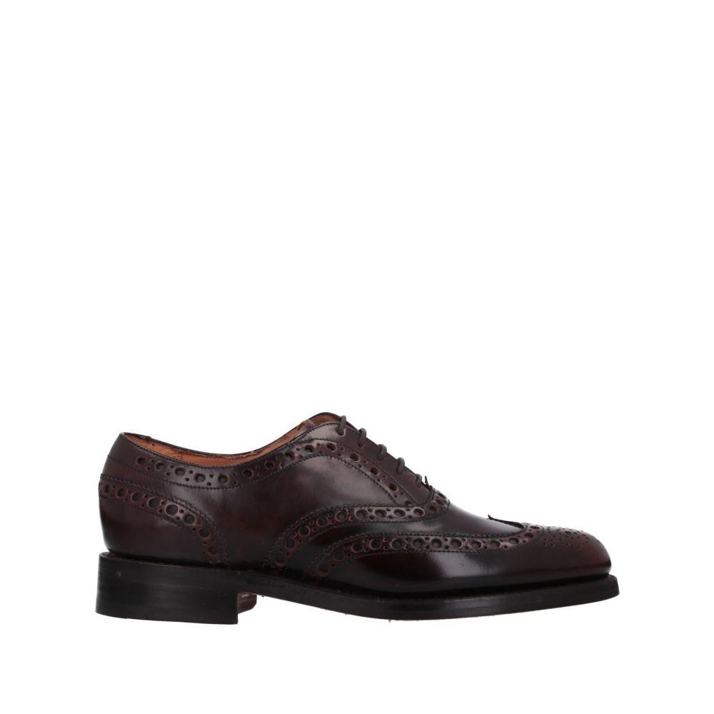 バーカー BARKER メンズ シューズ・靴 【laced shoes】Dark brown