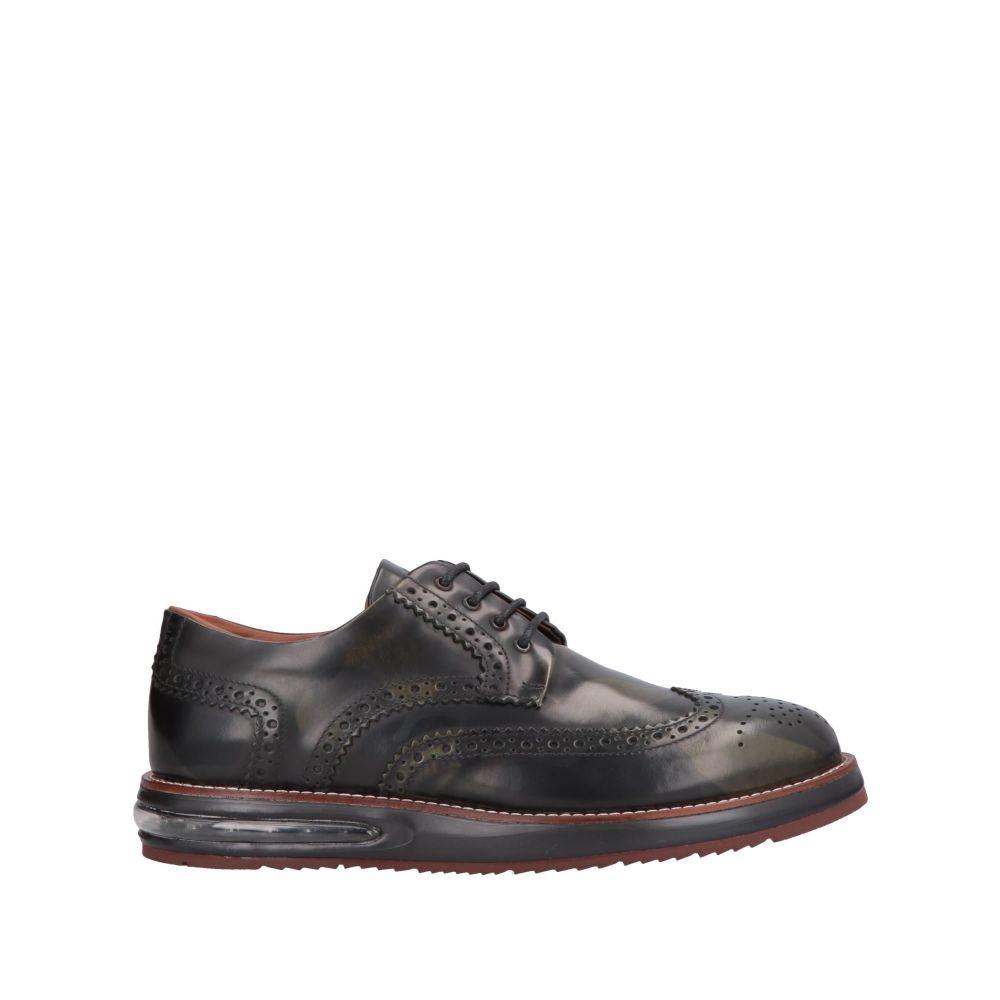 バーレイコーン BARLEYCORN メンズ シューズ・靴 【laced shoes】Black