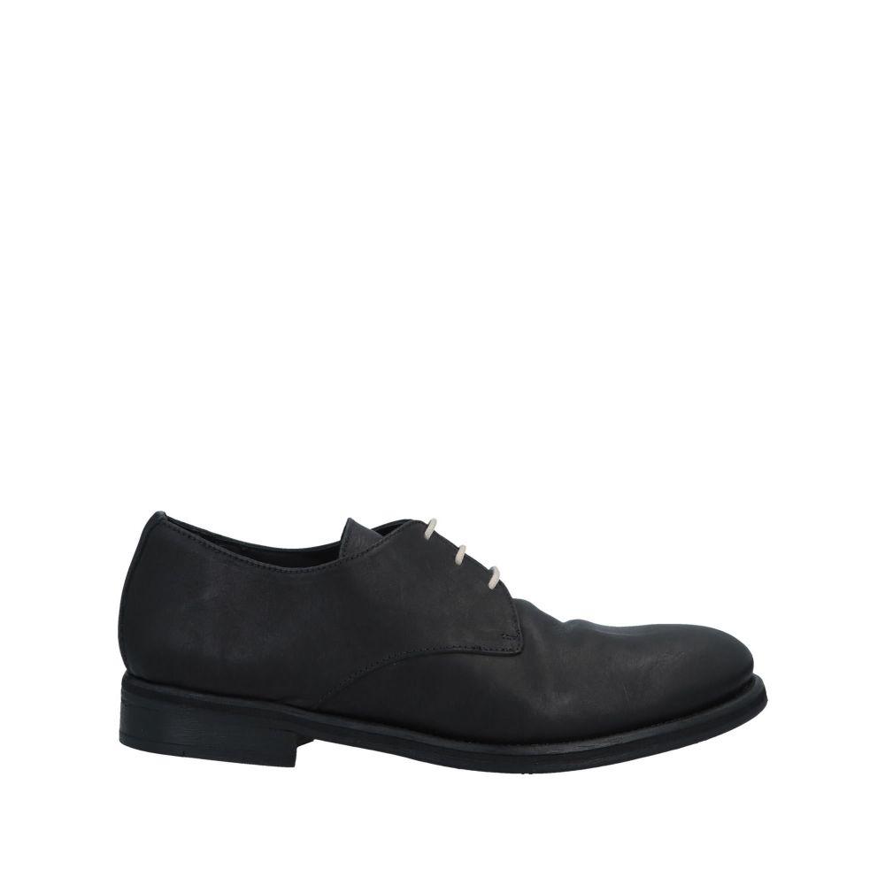 ノストラサンティッシマ NOSTRASANTISSIMA メンズ シューズ・靴 【laced shoes】Black