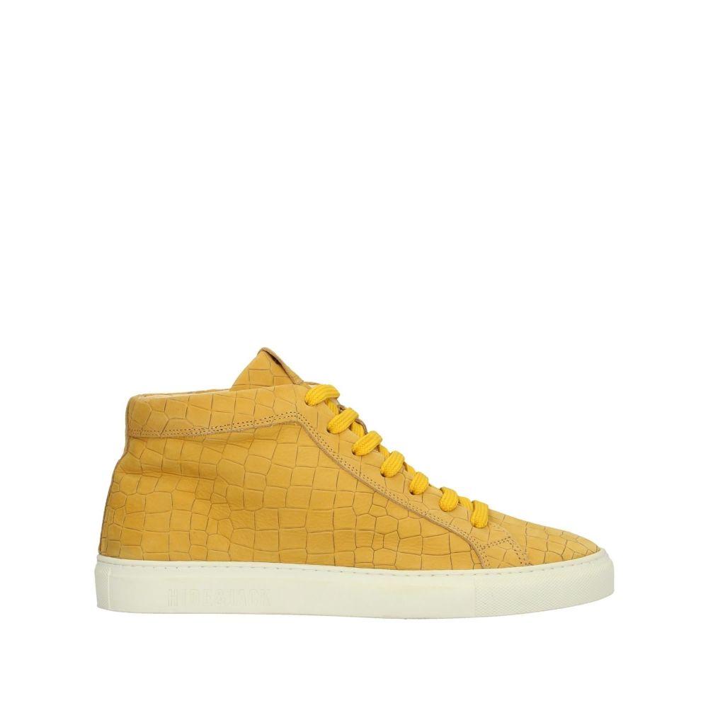 ハイド&ジャック HIDE & JACK メンズ スニーカー シューズ・靴【sneakers】Yellow