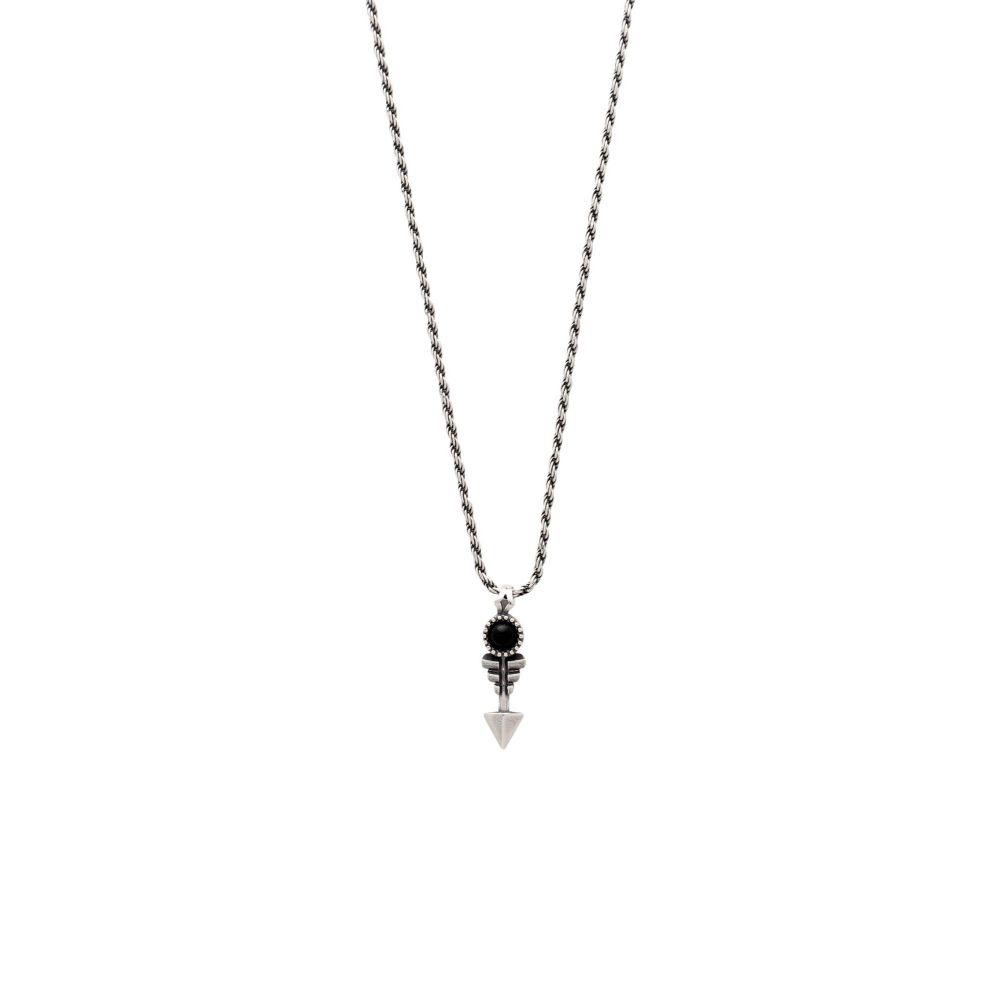 エマニュエレ ビコッキ EMANUELE BICOCCHI メンズ ネックレス ジュエリー・アクセサリー【arrow silver 925 necklace】Silver