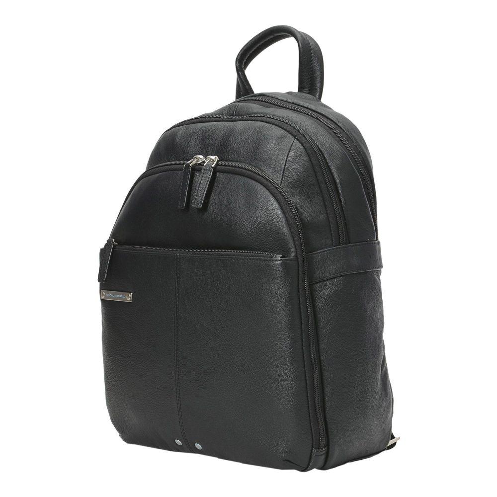 ピクアドロ PIQUADRO メンズ バッグ 【backpack  fanny pack】Black