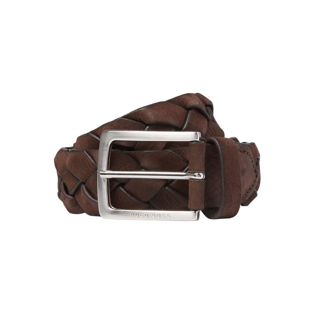 ヒューゴ ボス HUGO HUGO BOSS メンズ ベルト 【fabric belt】Brown