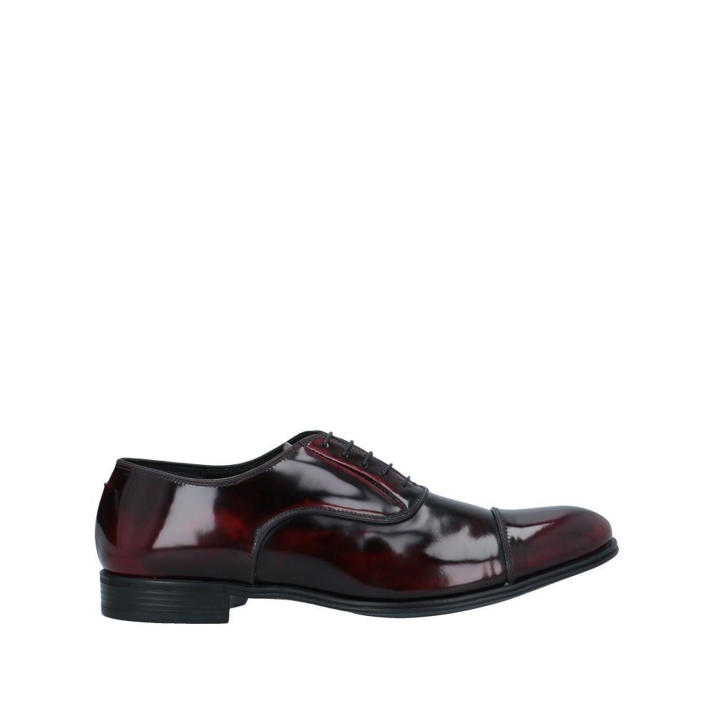 ファビ FABI メンズ シューズ・靴 【laced shoes】Maroon